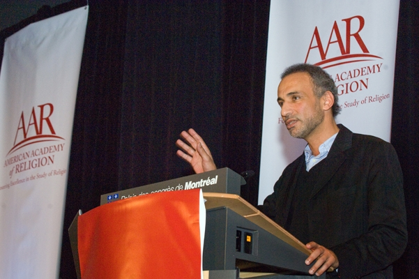 Tariq Ramadan, live and in person!