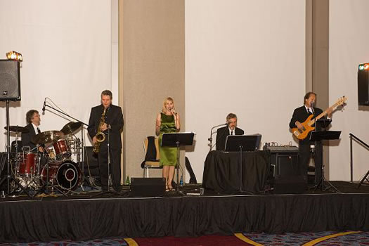 Jazz Band at the AAR Members' Party.