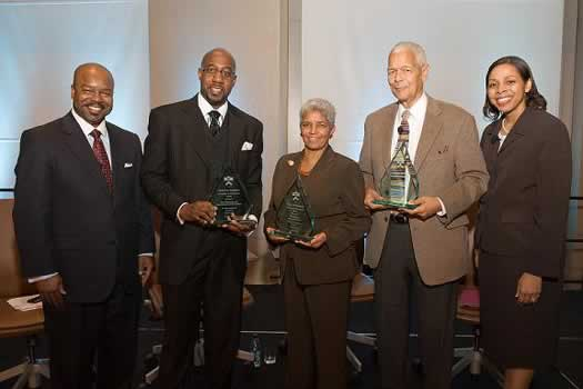Raphael Warnock, Shirley Franklin, and Julian Bond receive Exemplary Public Service Awards for their exceptional devotion to human rights.