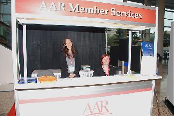 AAR staff are eager to assist members.