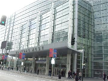The Moscone Center West building housed the Exhibit Hall and Registration.